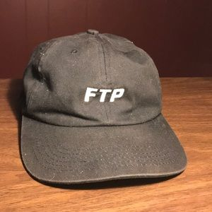 "b11bac6ef00 FTP Accessories - FTP ""Fuck the Population"" Black Hat"